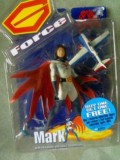 Battle OF THE Planets Gforce Mark Series 1 Gatchaman With SEA Plane | eBay