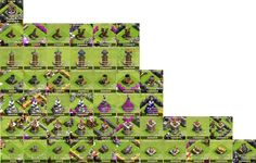 Clash of Clans Defense Legend
