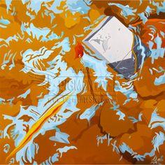 Autor: Juan Carlos Muñoz Betancur. Título: De la Serie Irresolución Cinco. Año: 2012. Técnica: Óleo sobre lienzo. Dimensiones: 100 x 100 cm. Se entrega montada en bastidor con certificado de autenticidad firmado y con la huella del autor.