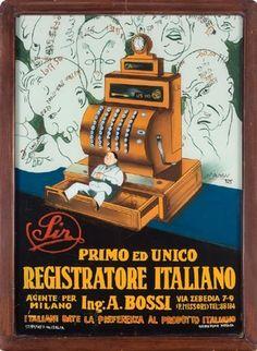 Signore. Primo ed unico registratore italiano di Achille Mauzan