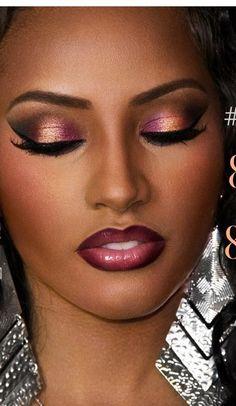 New nails colors for dark skin black women make up ideas Flawless Makeup, Gorgeous Makeup, Pretty Makeup, Love Makeup, Makeup Looks, Hair Makeup, Dead Makeup, Flawless Face, Sfx Makeup