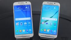 Samsung just announced its new Galaxy and Edge, its 2015 flagship smartphones. The and Edge have a completely redesigned look and feel and have ditched the cheap plastic for premium. Consumer Technology, Technology Gadgets, Samsung Galaxy S6 Edge, Cell Phones For Sale, Verizon Wireless, Tiger, Galaxies, Panama, Android