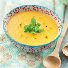 Crème de lentilles au curry - A TESTER