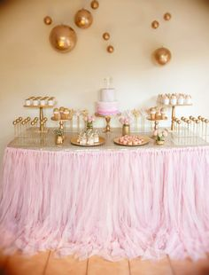 Hostess with the Mostess® - Album 1 - Mia's Fairy Disco Birthday Golden Birthday Parties, Pink Parties, Birthday Party Themes, Birthday Ideas, 30th Birthday, Pink Gold Party, Pink And Gold Birthday Party, Champagne Party, Dream Party