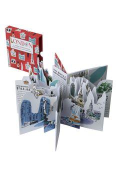 London 3D Expanding City Skyline