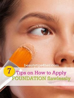 Proper foundation application will give you imperfection-free, smooth and silky skin. Many ladies commit various basic application mistakes. However, that stand in the way of perfection. Here are several professional tips that will make the