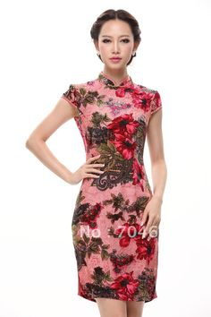 images of cheongsaams for asian women  ... -China-Red-Bridal ...