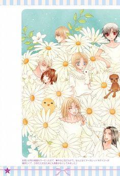 Tachibana Higuchi, Gakuen Alice, Graduation - Gakuen Alice Illustration Fanbook, Natsume Hyuuga, Izumi Yukihira