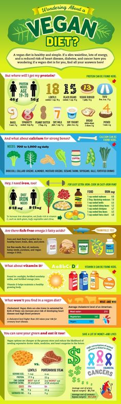 Sometimes a picture can say a thousand words and this great guide to the vegan diet highlights the key aspects to think about and foods to include to ensure a healthy balanced diet https://thenutribox.com/picture-guide-to-a-vegan-diet