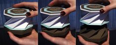 origami twist fold 2-piece box soap packaging --part 2 // Design Packaging for Jonathan Adler