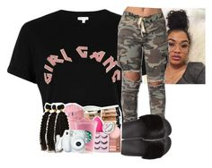 """""""Girl gang ‼️"""" by crowned-ivy ❤ liked on Polyvore featuring River Island and Givenchy"""