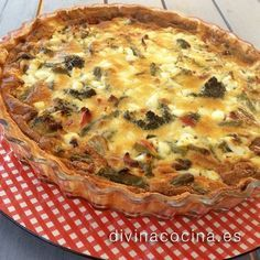 Quiche de verduras con queso » Divina CocinaRecetas fáciles, cocina andaluza y del mundo. » Divina Cocina