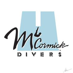 McCormick Divers Logo by Kiss a Cow Studios