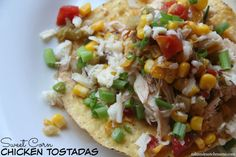 Dinner Tonight: Sweet Corn Chicken Tostadas