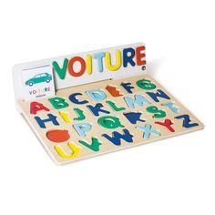 Puzzle ABC magnétique Educabul création Oxybul pour enfant de 4 ans à 6 ans - Oxybul éveil et jeux Craft Box, Creative Industries, About Me Blog, Kids Rugs, Games, Toys, Birthday, Crafts, Puzzle