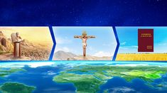 The relationship between each of the three stages of God's work True Faith, Faith In God, Salvation Scriptures, Revelation Bible, Jesus Second Coming, The Descent, Saint Esprit, Kingdom Of Heaven, Christian Devotions