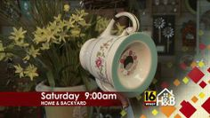 Fly Me Home Decor will show us how to make a birdhouse from a teapot Saturday at 9am on @WNEP-TV. #SustainableLiving