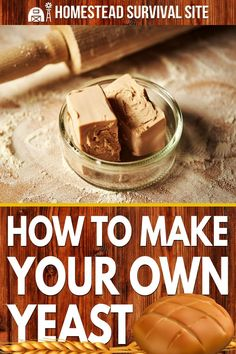 Arguably the easiest way to make your own yeast is to grow a sourdough starter. All you have to do is capture wild yeast using flour and water. Muffins, Yeast Starter, Bread Recipes, Cooking Recipes, Scones, Granola, Croissants, Diy Food, Pain