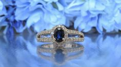 transcendfinejewellery.com HALF ETERNITY DIAMOND AND BLUE SAPPHIRE ENGAGEMENT RING AND OTHER FINE JEWELRY – Transcend Fine Jewellery