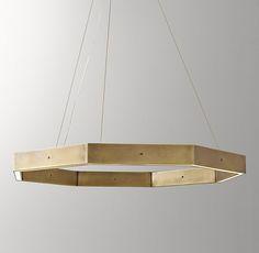 Orson 36 Inch Pendant - Light Aged Brass