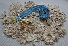30 pcs 1 2 2-5 cm Irish lacehandmade jewelry от AlisaSonya