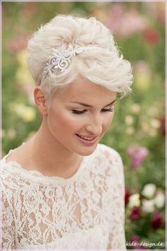 Haarschmuck & Kopfputz - Haarreif Haarschmuck Braut filigree vintage - ein Designerstück von Kido-Design bei DaWanda