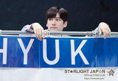 Hyuk, Vixx, Hana Kaze, greeting booth,
