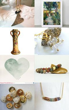 Essence of Spring by Alice on Etsy--Pinned with TreasuryPin.com