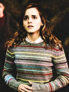 Hermione. This is one of my favorite outfits of hers. :)
