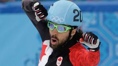 Charles Hamelin has won the men's 1500 metres short track speed skating gold medal at the Sochi 2014 Olympic Winter Games. On Monday, the older of the two Hamelin brothers at the Olympics quickly b… Speed Skates, Olympic Team, Winter Games, Winter Olympics, Charles Hamelin, Bicycle Helmet, Athlete, Two By Two, Track