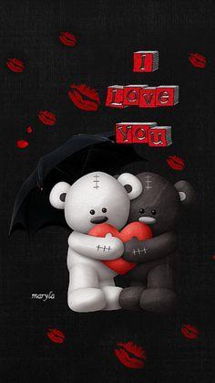 I Love You love heart animated gif teddy bear i love you valentines day valentine's day love greeting
