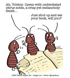 Voracious bookworms!---And funny too!