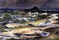 The Baltic Sea (Lovis Corinth - 1902)