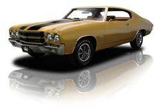 1970 Chevrolet Chevelle SS 396 V8 4 Speed. Via: RK Motors Charlotte