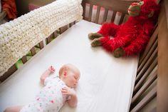 Lil' baby restin' in its crib. #baby #lifestyle #sleeping #crib #Coeurd'Alene #Idaho