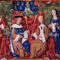 Louis XII et Mary Tudor.- Louis XII, devenu veuf le 9 janvier, se remarie le 9 aout 1514 à Abbeville avec Marie d'Angleterre, la très jeune sœur du roi Henri VIII d'Angleterre, pour sceller sa récente réconciliation avec ce dernier.