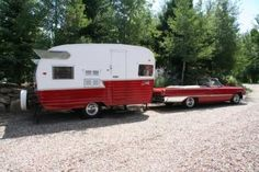 """""""Retro Trailer Design recreates vintage travel trailers reminiscent of the canned hams of the 1950s & 1960s."""""""