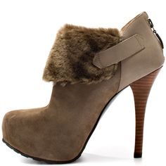 Oleta - Taupe Suede  Guess Shoes