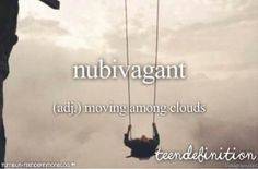 nubivagant: moving among clouds