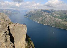 Preikestolen, Norway - Saffron Blaze/Getty Images