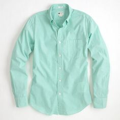 Factory button-down washed shirt in thin stripe - jcrew