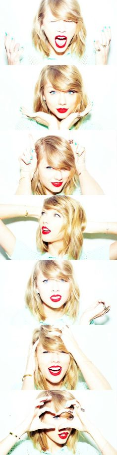 """""""We see our appearance everyday and we forget those negative thoughts aren't real. We have to try and forget that we aren't terrible people and we need to learn how to love ourselves."""" - Taylor Swift <3"""