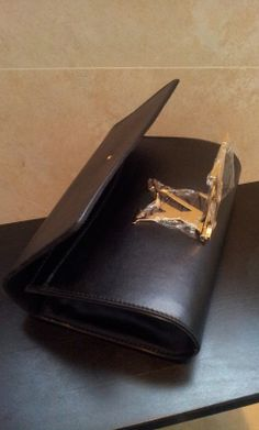 Louis Vuitton Louise clutch M90083. real shoot $149+FREE shipping+on-line payment