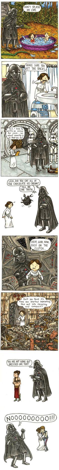 Melhor Livro // Vader's Little Princess