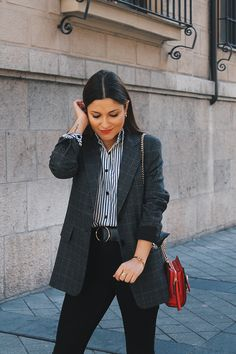 92 mejores imágenes de Amor por los blazers | Moda estilo