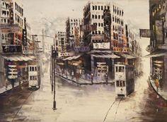 Old Hong Kong painting.