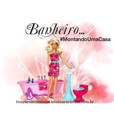 """""""Banheiro"""" by truquesdemeninas on Polyvore para a série #MontandoUmaCasa"""