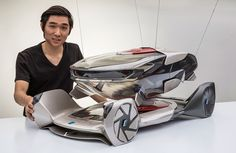Chris Lee and his BMW iQ Concept