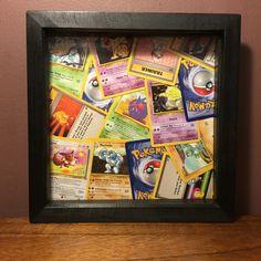 Pokemon Cards Deep Set Framed