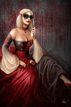 Harley Quinn....Kind of feel like I need to make this ..